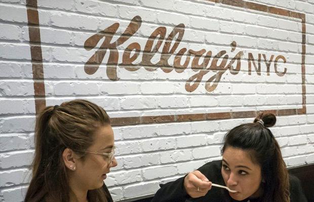 Kellogg's NYC cereal café