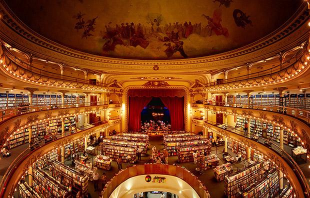 Em Buenos Aires, antigo teatro é transformado em uma das livrarias mais bonitas do mundo