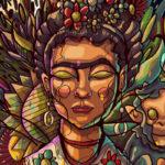 Inspirado pela Street Art, Emerson Dias cria ilustrações fantásticas usando linhas como texturas e muitas cores