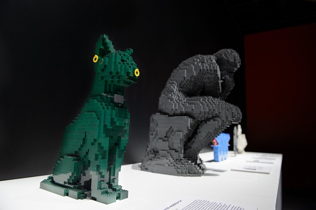 The Art of the Brick exposição Lego Nathan Sawaya
