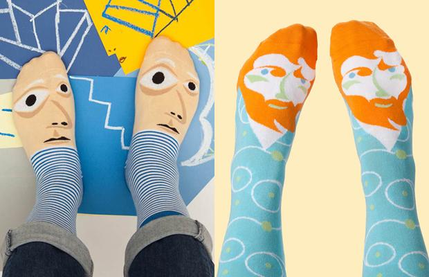 meias coloridas Chattyfeet