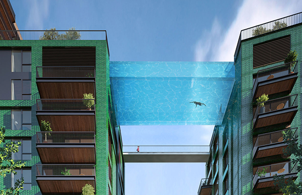 Sky Pool piscina alturas londres