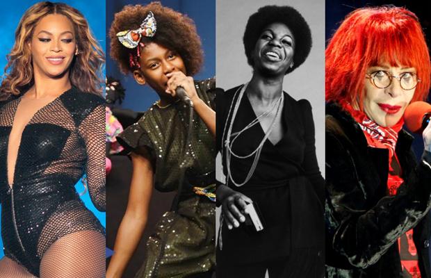 #amarelas playlist spotify mulheres