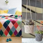 Tendência na Decoração: Acessórios feitos com tricô e crochê – para deixar sua casa mais aconchegante!