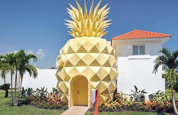 Bob Esponja resort Punta Cana