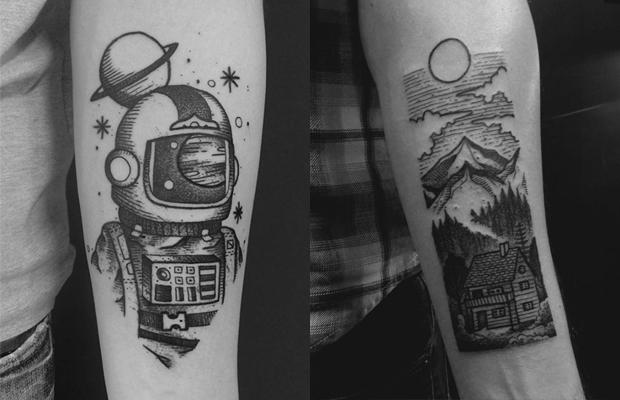 Daniel Griza tatuador Porto Alegre blackwork