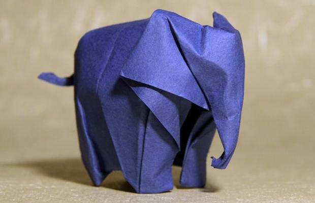 elefantes origami extinção 96 elephants