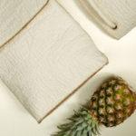 Piñatex: Conheça o couro ecológico feito com sobras de abacaxi que promete revolucionar o mundo da moda