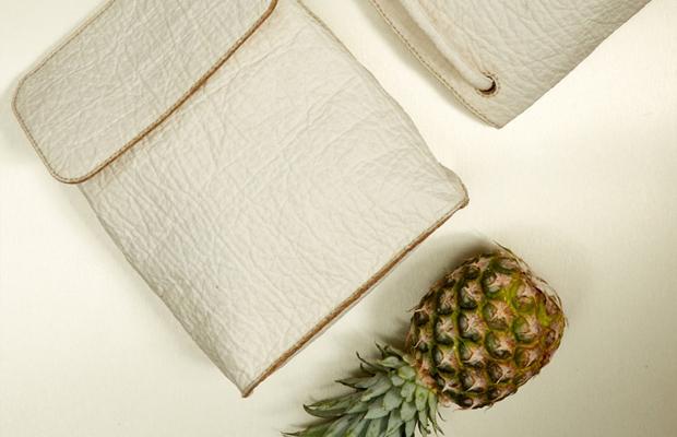 Piñatex couro ecológico abacaxi