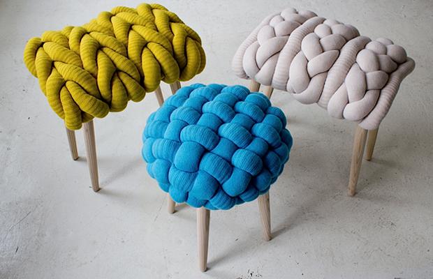 Tendência na Decoração  Acessórios feitos com tricô e crochê - para ... 25ffdd178cc