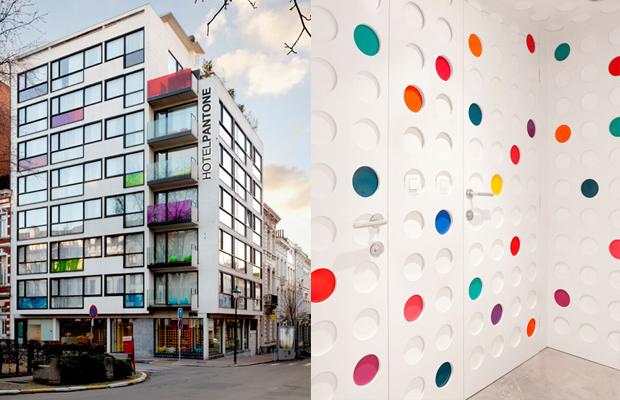 Pantone Hotel Bruxelas Bélgica