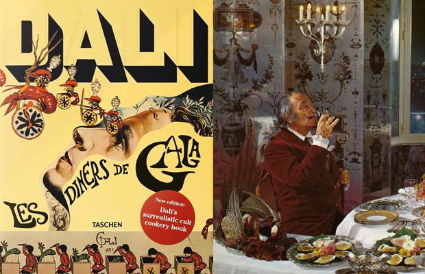 Salvador Dalí livro de receitas