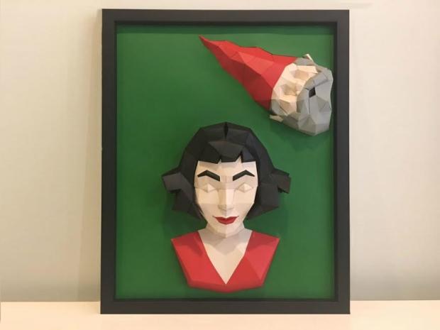 Conheça a Urban Craft, marca carioca de quadros e objetos tridimensionais criados em papel