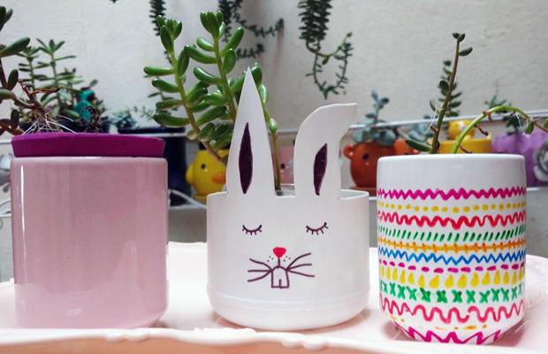 vasinho embalagem reaproveitada DIY
