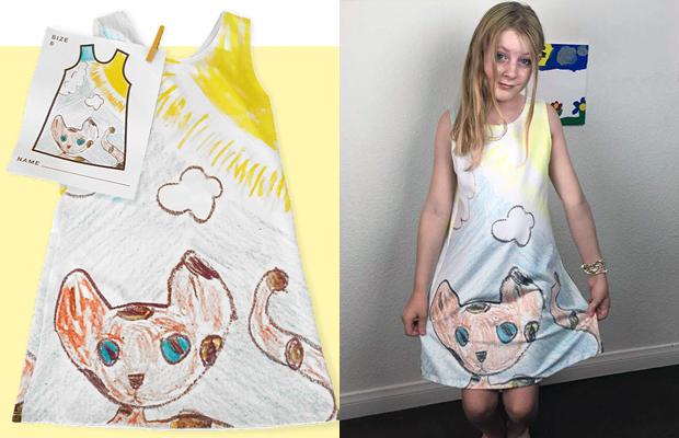 picture this crianças estampas roupas