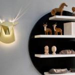 Popup Lighting: Luminárias supercriativas criam desenhos de animais quando acesas