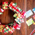 Passo a passo: Aprenda a fazer uma guirlanda de natal reaproveitando caixinhas e outros materiais