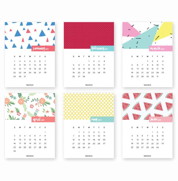11 calendários 2017 para baixar, imprimir grátis e se organizar ...