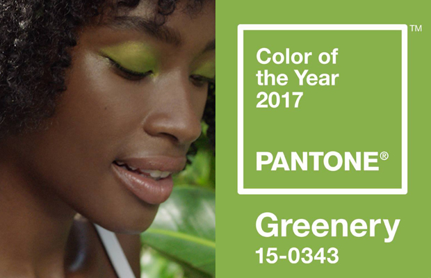 Pantone cor do ano 2017 Greenery
