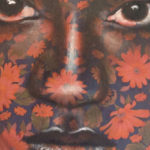 Aline Miguel, artista carioca, une pinturas da mulher negra brasileira com estampas de Chitão