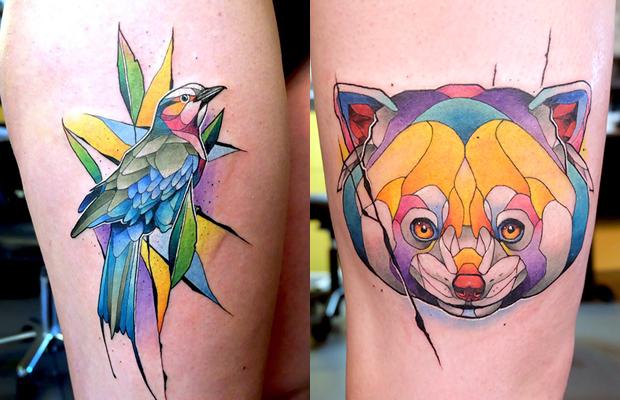 Dusty Brasseur tattoo