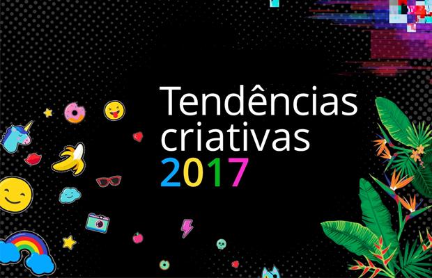 tendências criativas 2017 shutterstock