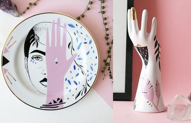 Estúdio Pamelitas porcelanas pintadas à mão