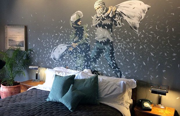 The Walled Off Hotel Banksy