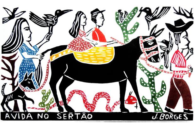 J. Borges xilogravura nordestina