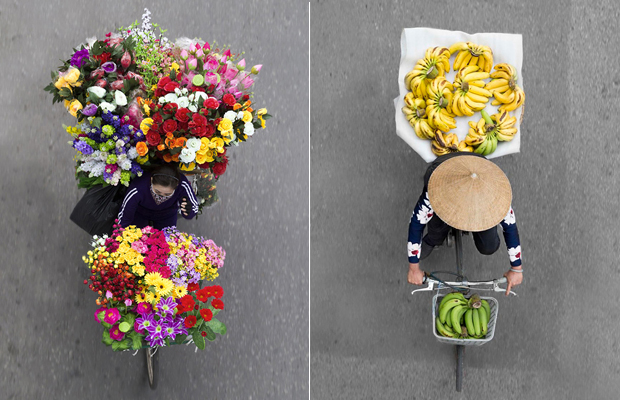 Loes Heerink vendors from above fotografia