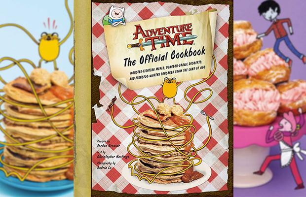 adventure time livro receitas