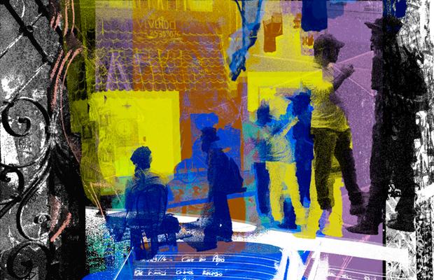 Máquina sem palavras exposição Guilherme Zawa fotografia