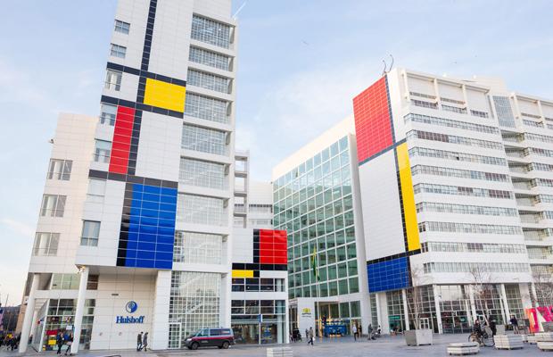 Mondrian instalação Holanda Haia