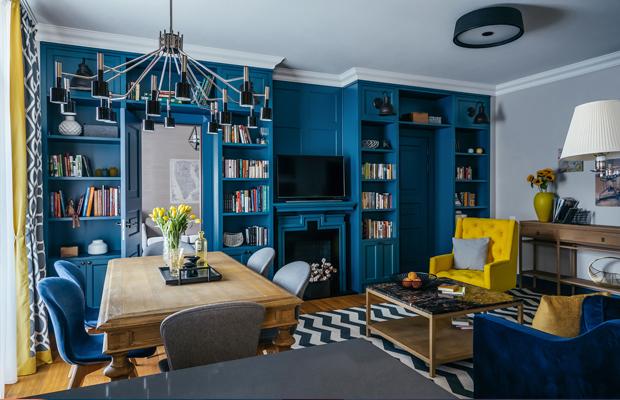 apartamento colorido Moscou Enjoy Home Studio