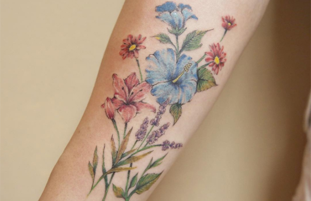 Luiza Oliveira tattoo Blackbird Atelier