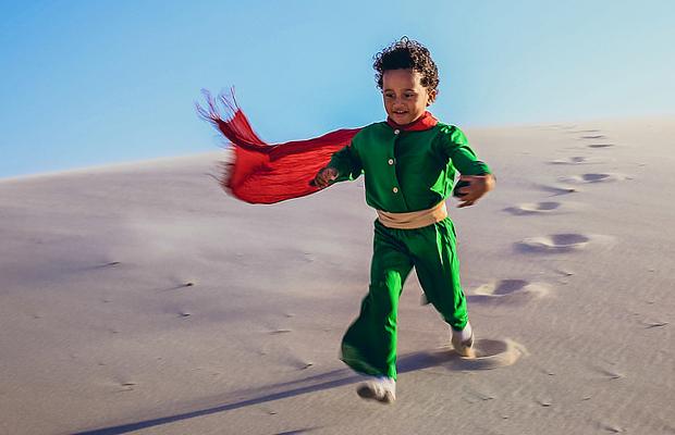 Pequeno Príncipe negro ensaio fotográfico Mari Merlim