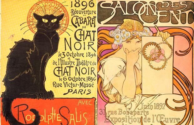 Belle Époque pôsteres vintage
