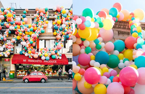 Geronimo balloons instalações balões
