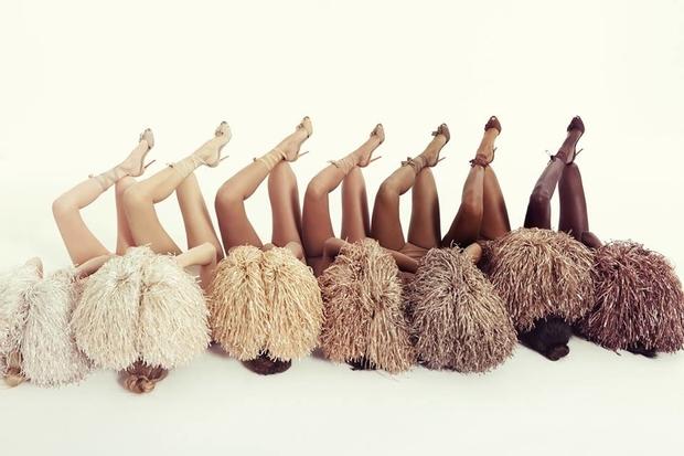 nudes Louboutin coleção