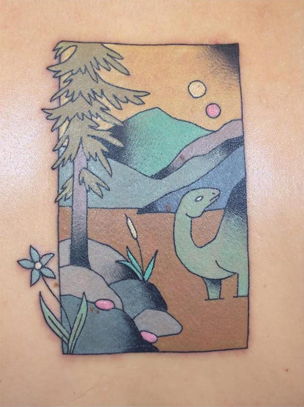 tatuagens estilo japonesa xilogravura brindi tattoo