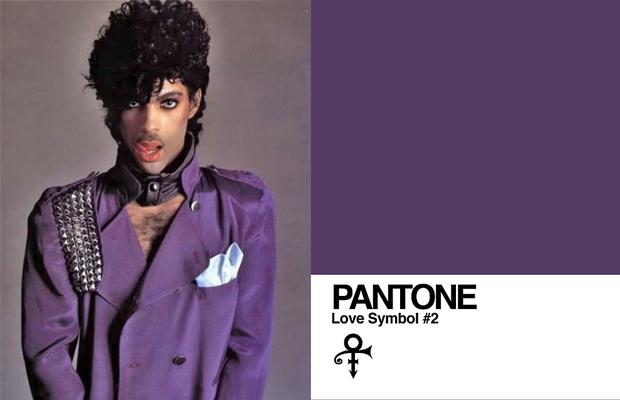 Pantone roxo Prince love symbol #2