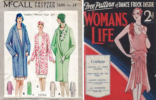 63a37d188f Mais de 85 mil modelos da costura vintage estão disponíveis ...