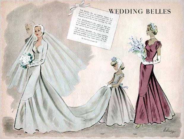 Mermaid Wedding Dresses AU