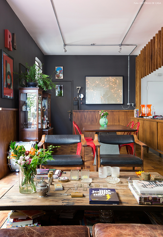Vintage com moderno combinar o passado com o futuro uma for Casa moderna vintage