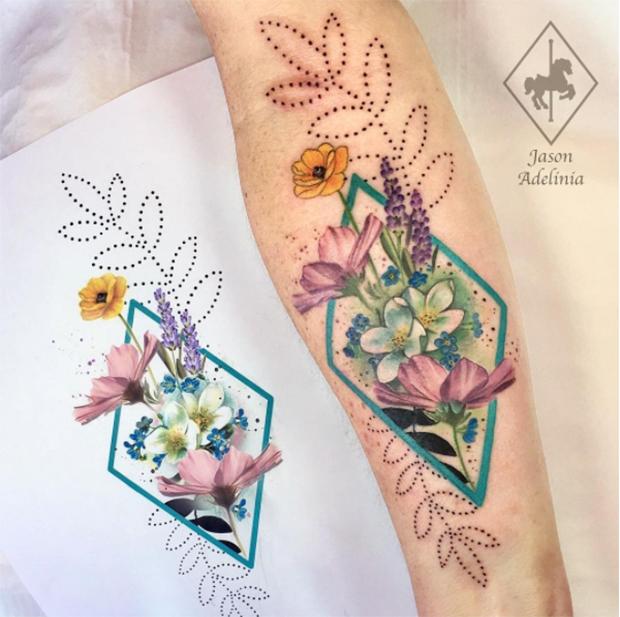 Jason Adelinia: Com traços leves e espontâneos, o inglês cria lindos adornos botânicos que celebram a natureza