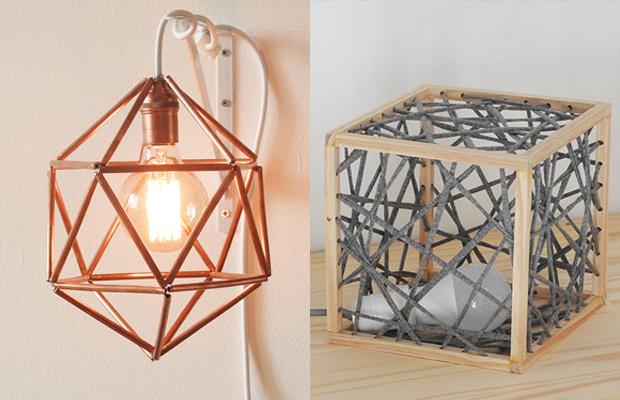 projeto One Lamp a Week luminária Nat Dametto