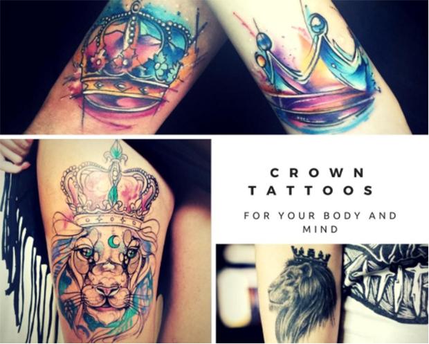 Tatuagens De Coroa Conheça Alguns Significados E Inspirações Para