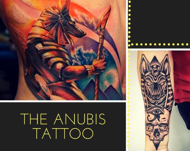 tatuagens egípcias Egito Anubis