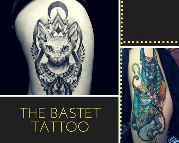 tatuagens egípcias Egito Bastet