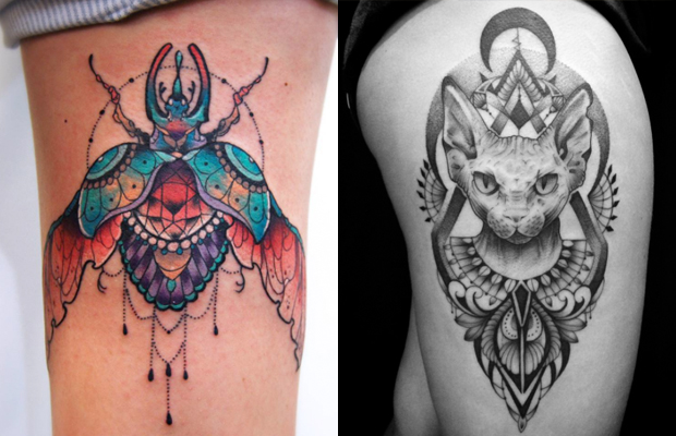 Historia Significados E Ideias De Tatuagens Egipcias Para Os